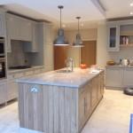Bespoke hand painted kitchen Bramhall