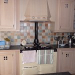 Hand painted kitchen in Worsley