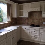 Hand painted Beech kitchen in Garstsng