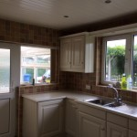Hand painted Beech kitchen in Garstang
