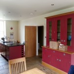 Hand painted Smallbone kitchen in the Ribble Valley
