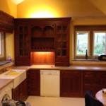 Hand painted kitchen & room redecoration