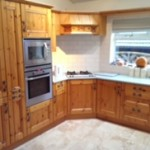 Hand painted kitchen St Helens
