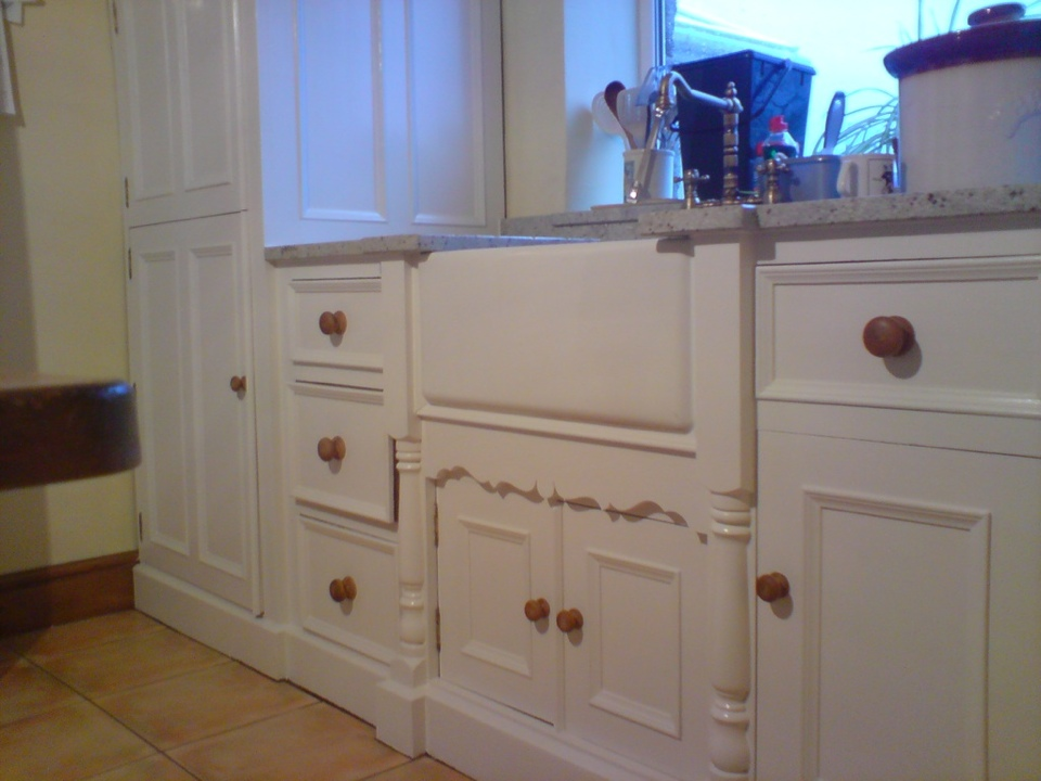 Limed Oak Kitchen Cabinets