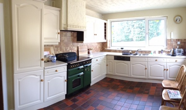 Hand painted Kitchen cabinets Ribble Valley