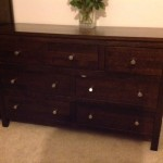 Darkl Oak furniture painting