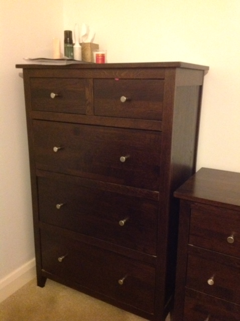 My dark oak furniture needs painting js decor