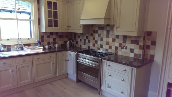 Hand Painted Kitchen Alderley Edge