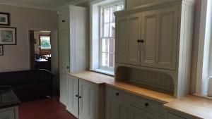 Hand painted Laurel Farm kitchen