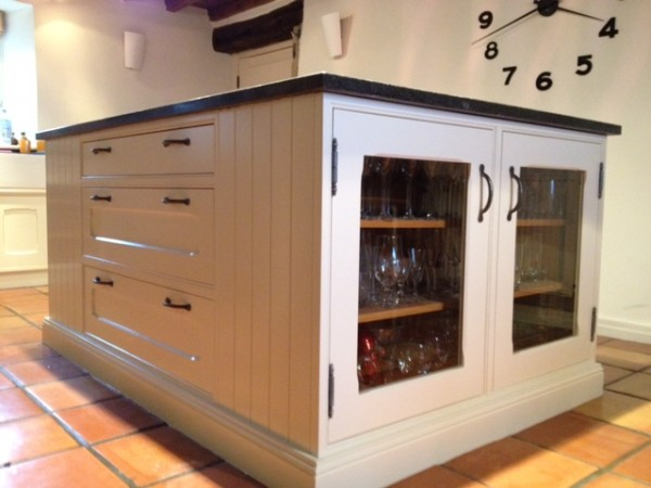 Hand painted kitchen Yorkshire (Holmfirth)