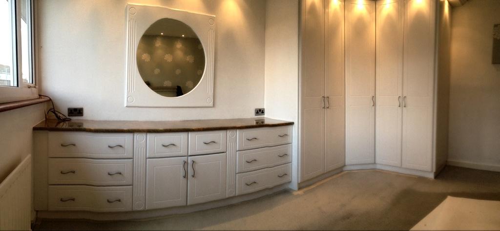 Hand painted wardrobes Rawtenstall lancashire