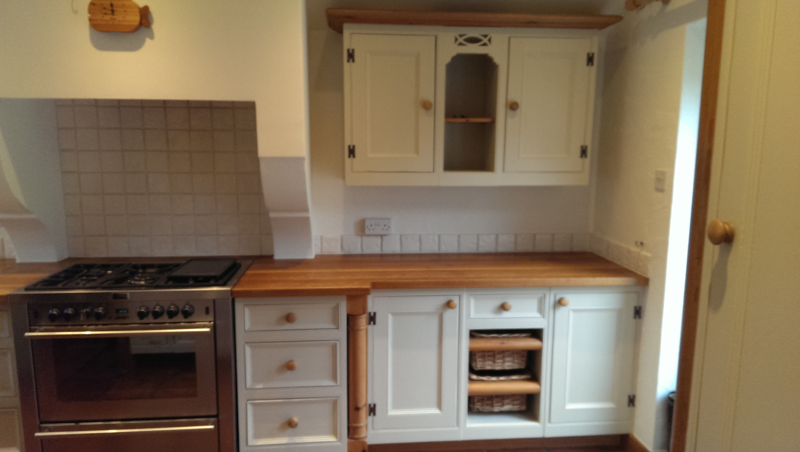 handpainted kitchen Woodford Cheshire