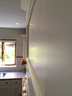 MFI kitchen now hand painted | JS Decor | #Hand #Painted #Kitchen #Painters #Cheshire #UK