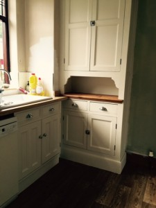 Another hand painted kitchen Burscough Lancashire