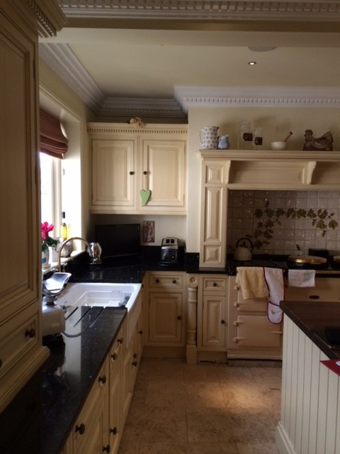 How to paint Clive Christian kitchen Cheshire