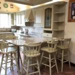 Hand painted Dark Oak kitchen Preston Lancashire