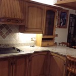 Hand painted Dark Oak kitchen Preston Lancashire