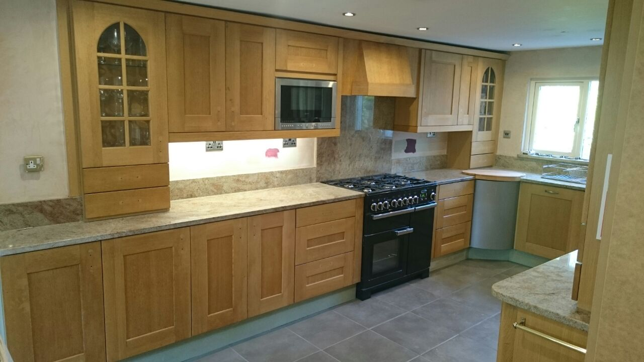 Hand painted kitchen rufford lancashire js decor for Kitchen designs lancashire