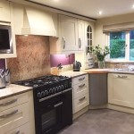 Hand painted kitchen Rufford Lancashire
