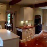 Hand painted kitchen wilmslow Cheshire