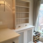 hand painted Chalon kitchen Mobberley Cheshire