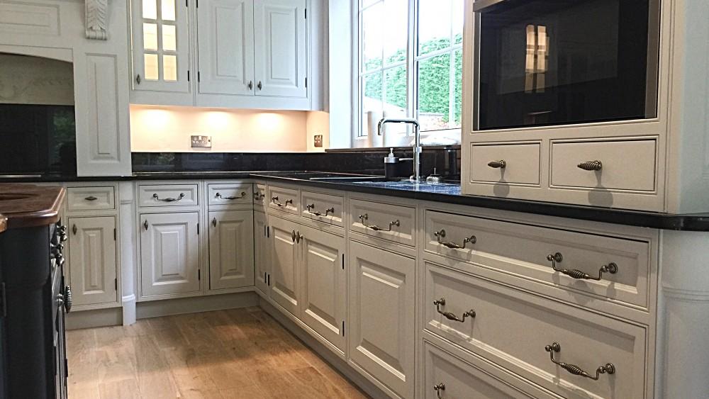 Hand painted kitchen specialist Prestbury Cheshire