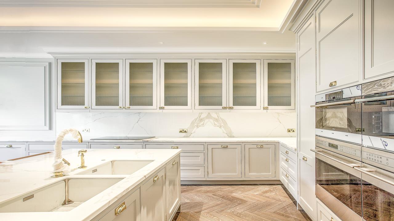 Hand Painted Kitchen - JS Decor
