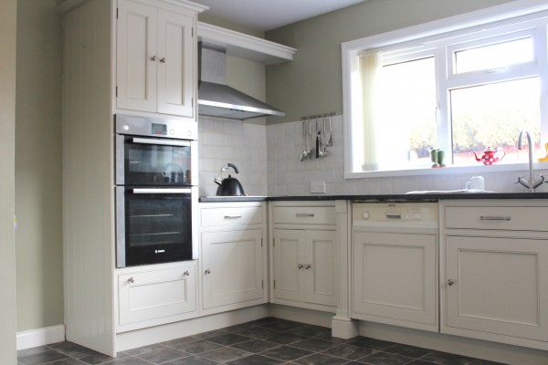 Hand painted Beech Kitchen Northwich Cheshire