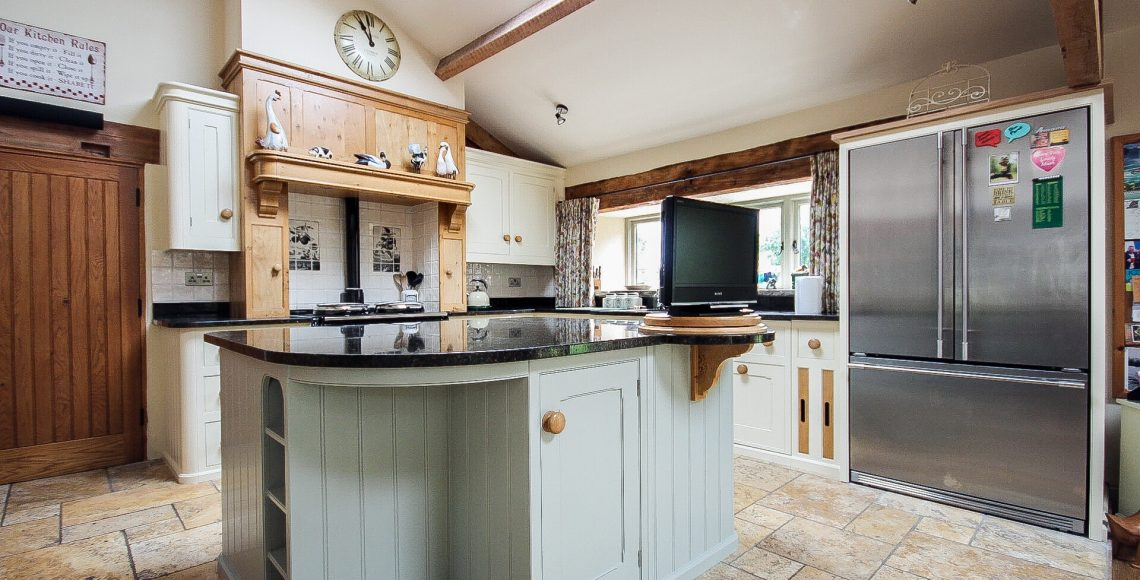 Exquisite hand painted kitchen cabinets in Lancashire, North West