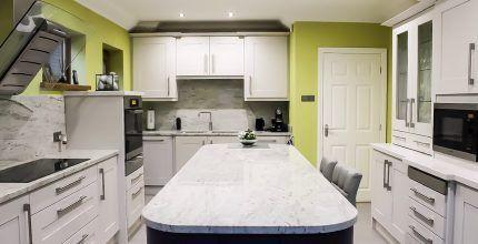 Specialist kitchen cabinet painter Lancashire