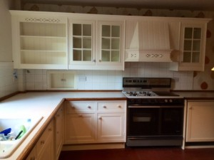Repainted Smallbone kitchen in Merseyside