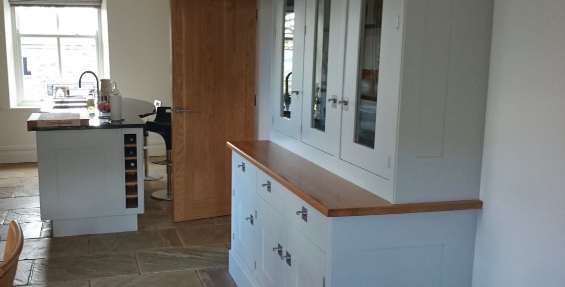 Hand painted Smallbone kitchen ribble valley