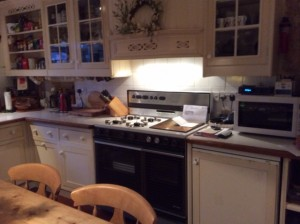 Repaint a Smallbone kitchen in Merseyside