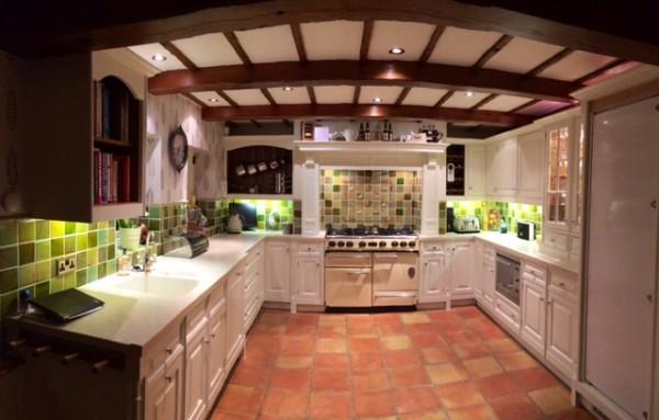 Hand painted Mills Scott kitchen