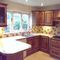 Hand painted kitchen cabinets Poynton Cheshire