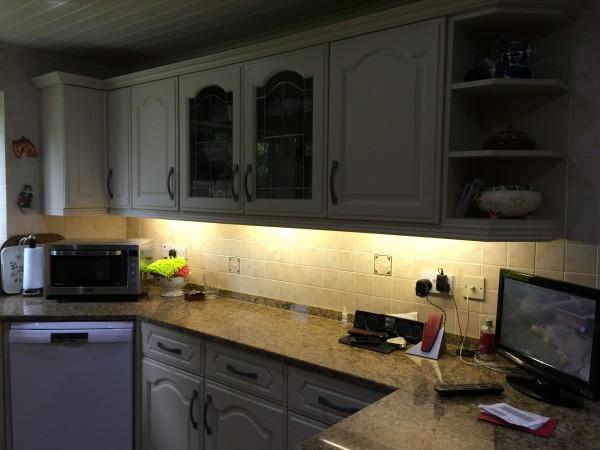 Neville Johnson Hand painted Kitchen Bramhall