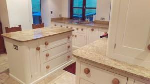 Hand painted Mark Wilkinson cooks kitchen Lancashire