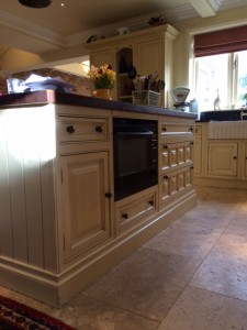 Hand paint Clive Christian kitchens Cheshire