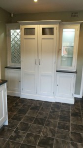 Hand painted Beech kitchen Northwich Cheshire