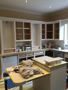 Kitchen painter Lytham St Annes Lancashire