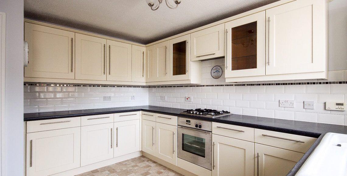 Hand painted Oak kitchen Blackpool