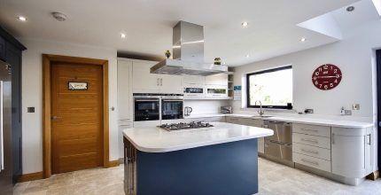 Painted kitchen Ilkley Yorkshire