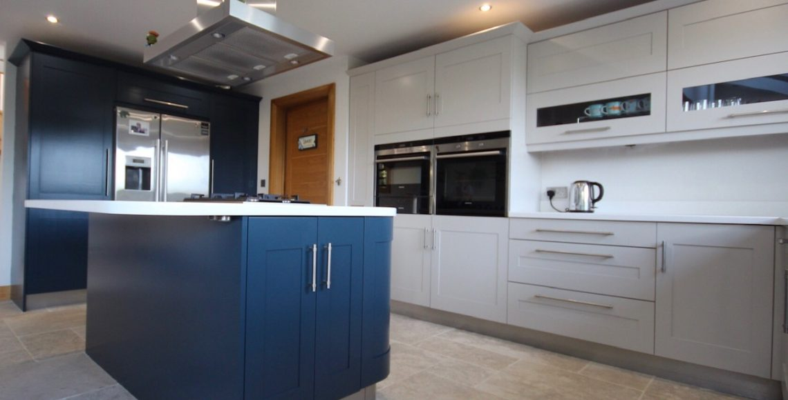 painted kitchen Ilkley Yorkshire