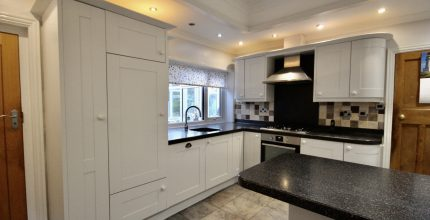 Painted kitchen Longton Preston Lancashire
